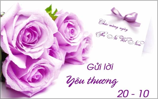 ảnh chúc mừng phụ nữ Việt Nam nhân ngày 20-10