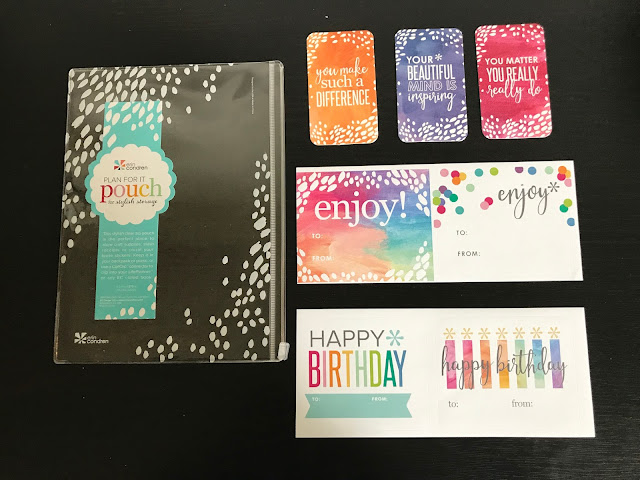 Goodies with Erin Condren Planner