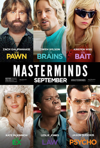 Masterminds (BRRip 720p Dual Latino / Ingles) (2016)