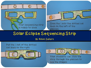 https://www.teacherspayteachers.com/Product/Solar-Eclipse-2017-Activity-2017-Solar-Eclipse-Sequencing-Strip-and-Hat-3338596