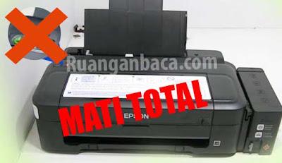 Solusi Printer EPSON mati total L120/ L110 /L300 /L310 /L210