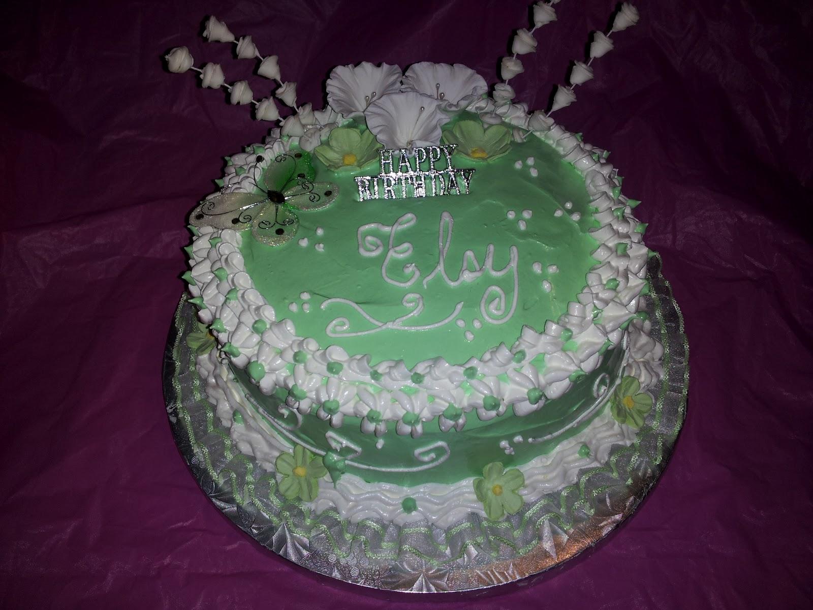 Dominican Birthday Cake