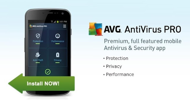 AVG Anti Virus Android Security Premium