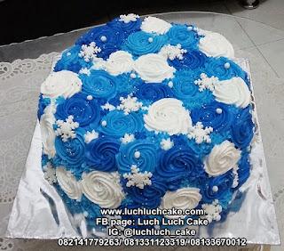 Kue Tart Ombre Buttercream