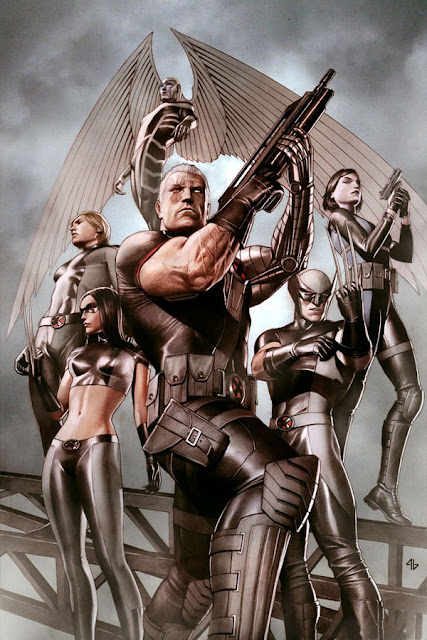 X-Force con Cable y Dominó