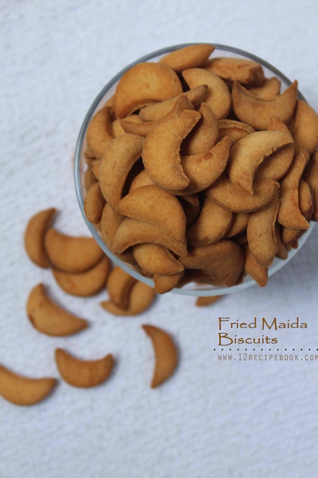 Maida Biscuit / Halfmoon cookies