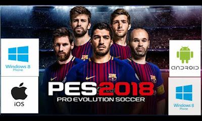 تحميل لعبة الفيفا 2018 للحاسوب  تنزيل لعبة pes 2018 للاندرويد مجانا  تحميل لعبة fifa 2018 للايفون  طريقة تحميل لعبة الفيفا 2018  شرح تحميل لعبة pes 2018