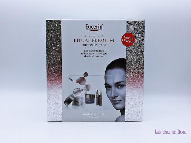 Eucerin Navidad Ritual Premium Hyaluron Filler regalos belleza antiedad hialuronico farmacia dermocosmética cuidado facial skincare