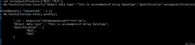 Array Datatype