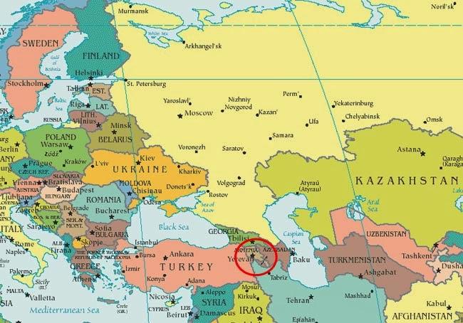 armenia mapa La Muchacha de Armenia: Situar un lugar en el mapa puede que no  armenia mapa