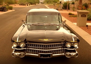 1959 Cadillac Fleetwood Brougham Limousine Front
