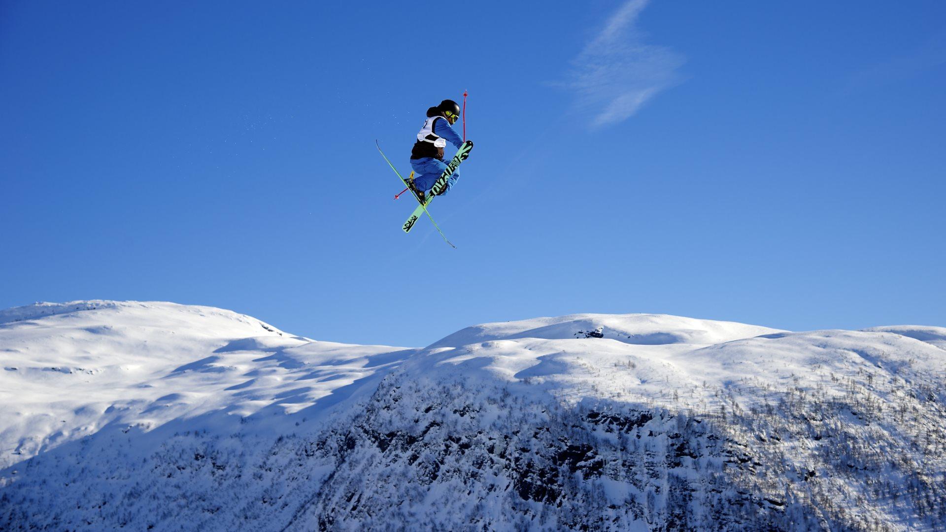freestyle skiing wallpaper - photo #7