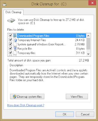توفير مساحة على القرص c : ملفات يجب عليك حذفها الان