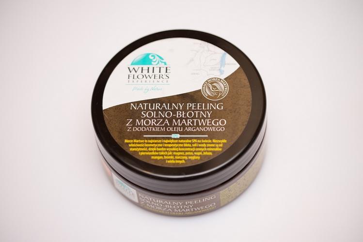 Naturalny peeling solno-błotny z Morza Martwego White Flower's