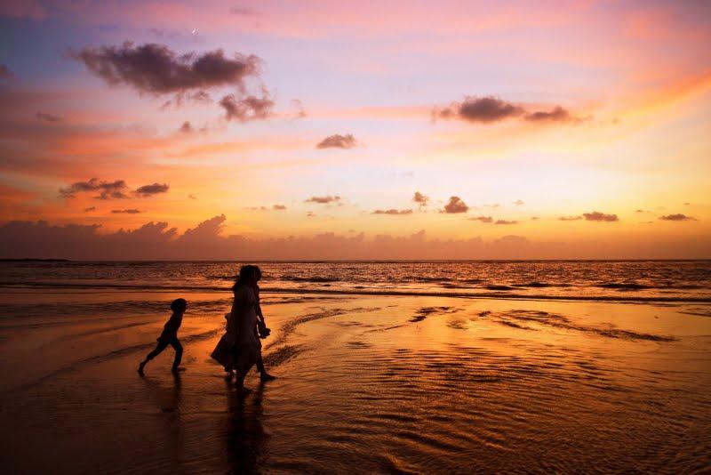 Sunset at Aksa Beach, Mumbai