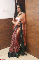 Udaya Bhanu lookssizzling in a Saree Choli at Gautam Nanda music launchi ~ Exclusive Celebrities Galleries 116.JPG