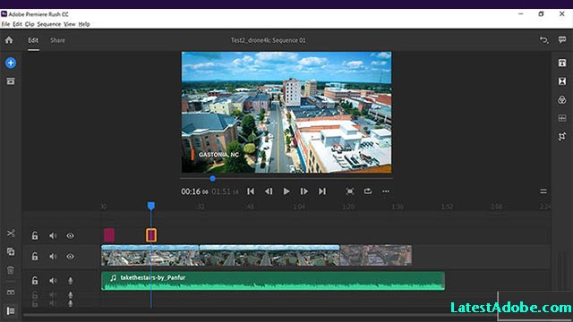 Adobe Premiere Rush CC 2019 Free Download mac
