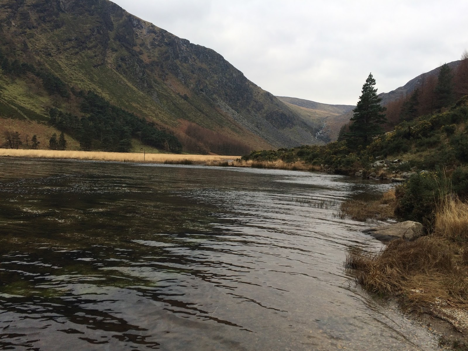 Lake in the Wicklow Mountains, Ireland