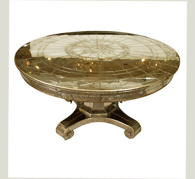 Best Round Mirrored Dining Table Strong and Latest Good for Your Kitchen and Dining Room Pic 007