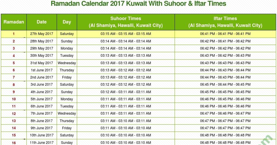 Image Result For Ramadan Calendar Ksa