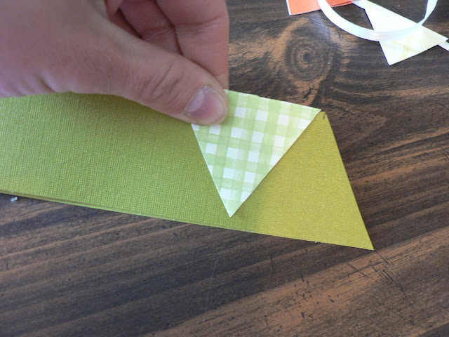 Mini Paper Bunting craft
