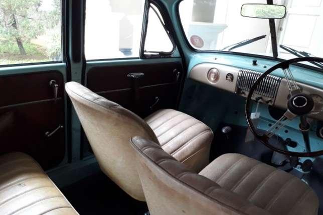 interior Morris Minor Tahun 1951