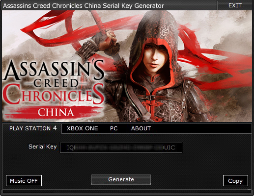 Games Assassins Creed Chronicles China Serial Key Tool