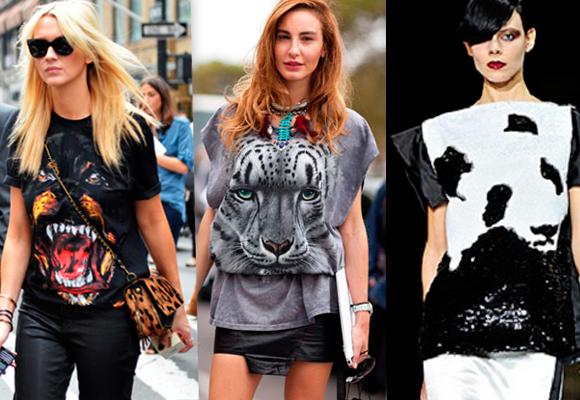Animal face t-shirt