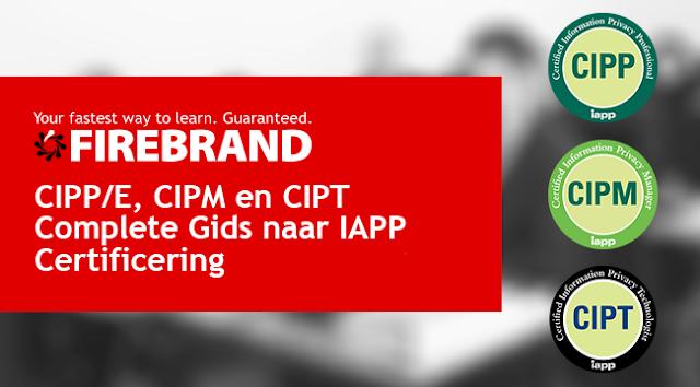 IAPP Certificering CIPP/E, CIPM,CIPT