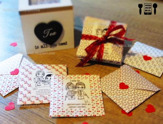 mommobil diy geschenke zum valentinstag basteln liebesbriefe teebeutel f r ihn. Black Bedroom Furniture Sets. Home Design Ideas