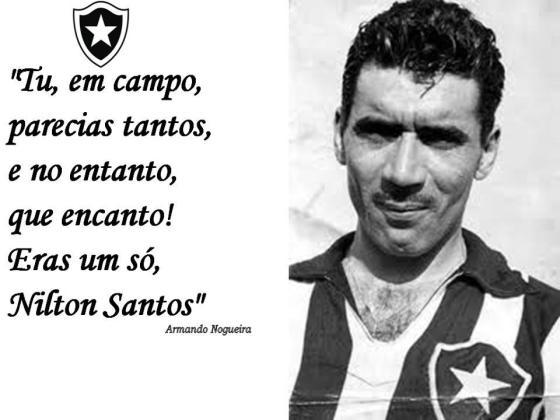 Seu Wilson e sua infinita paixão pelo Botafogo resumida em uma frase