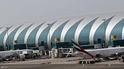 إغلاق مطار دبي بسبب طائرة بدون طيار