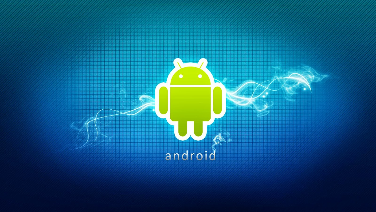 android wallpaper blue