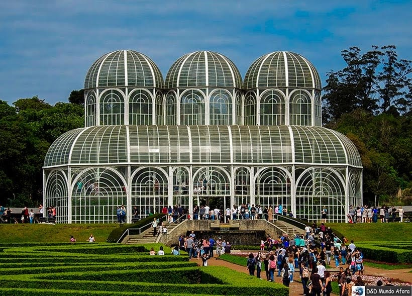 Jardim Botânico de Curitiba - Encontro RBBV