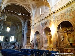sao pedro montorio nave central - São Pedro em Montorio