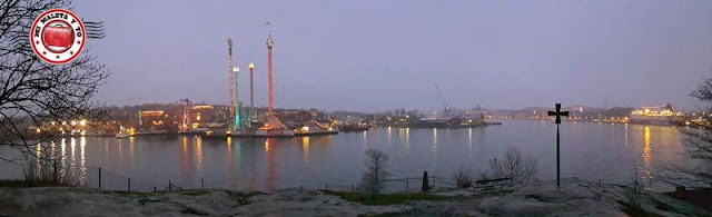 Vistas desde Kastellholmen, Estocolmo, Suecia