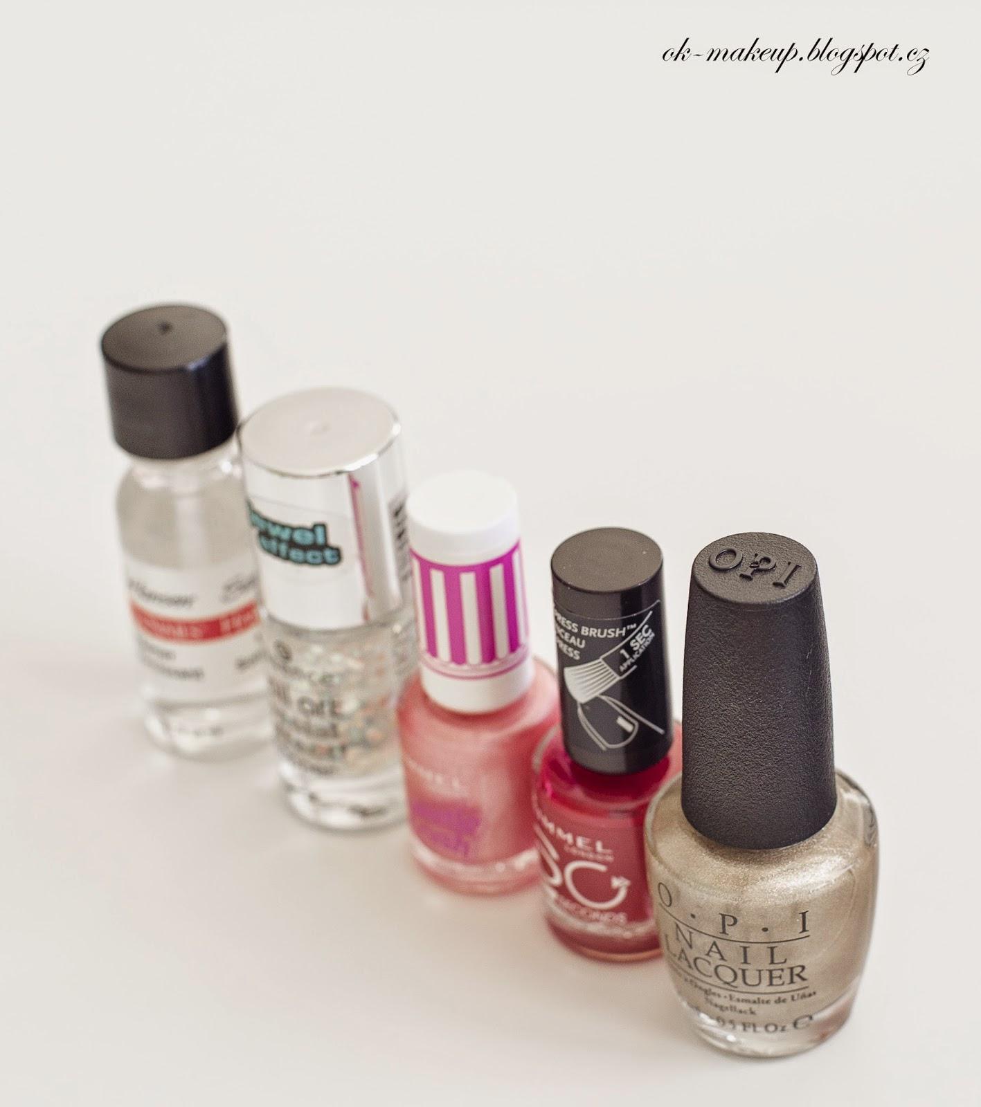 nails, opi, rimmel, essence,