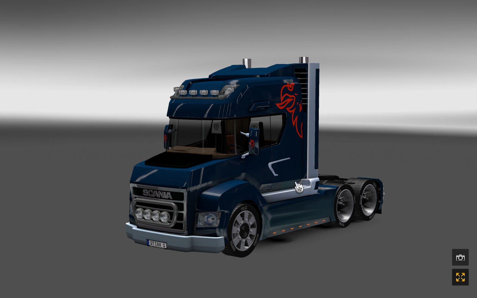 nwtrucks euro truck simulator 2 scania stax v 2 2 by news. Black Bedroom Furniture Sets. Home Design Ideas