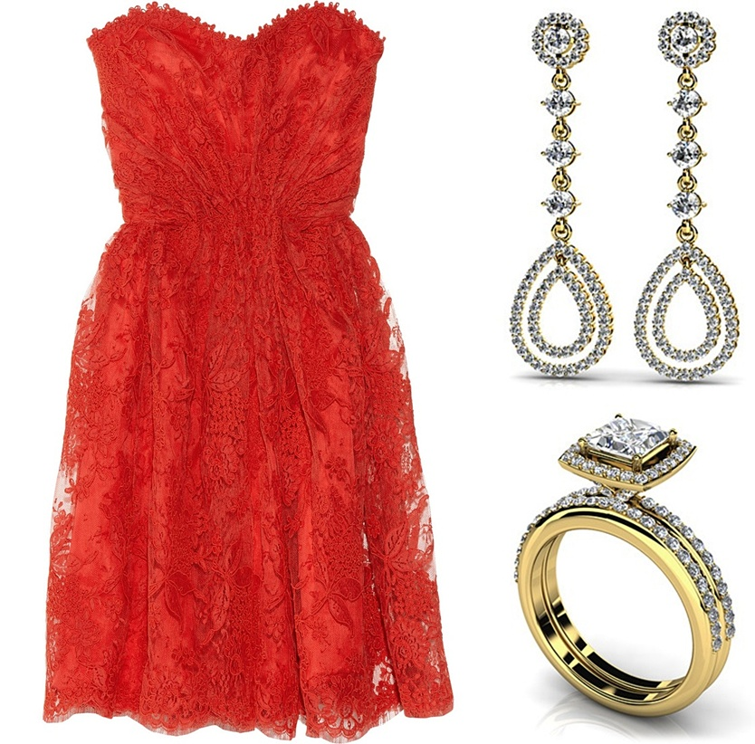 Pop Perfect Ring Diamontrigue Jewelry: Pop Culture And Fashion Magic: 10 Perfect Dress-jewelry