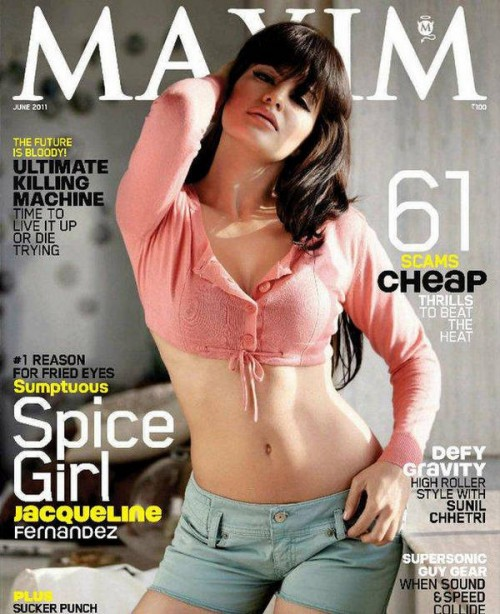 Bollywood Beauties sexy in Maxim Cover Page