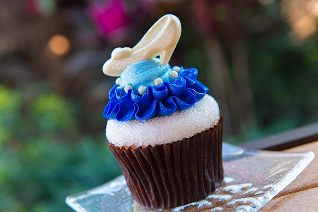 "So This Is Love: A ""Cinderella"" Anniversary Tea Party, Cinderella Cupcake"