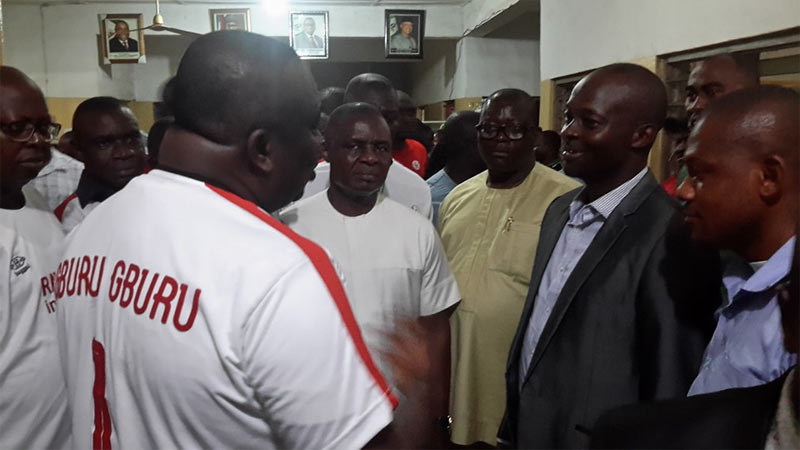 Ekweremadu, Ugwuanyi visit injured player as Rangers clinch NPFL title