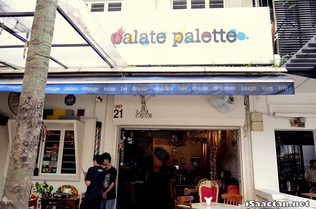 Palate Palette Restaurant, where the event was held