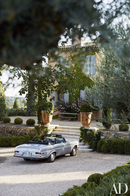 French country home in Provence - exterior of Celebrity Home of Frederic Fekkai on Hello Lovely