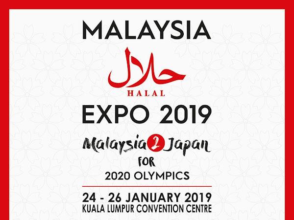 Malaysia Halal Expo 2019 di KL Convention Centre 24-26 Januari 2019