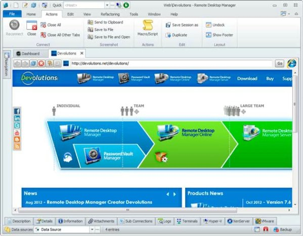 Remote Desktop Manager Enterprise 11.7.2.0 + Serial