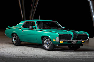 1970 Mercury Cougar Eliminator 428 Cobra Jet Green Front Picture