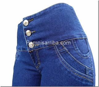 Fabricas de pantalones para dama mayoreo de jeans corte colombiano