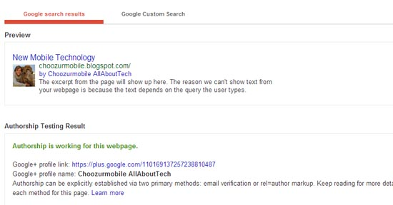 Google Rich Snipped Tool