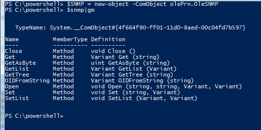 Solved by PowerShell: PowerShell: Using SNMP for HTML